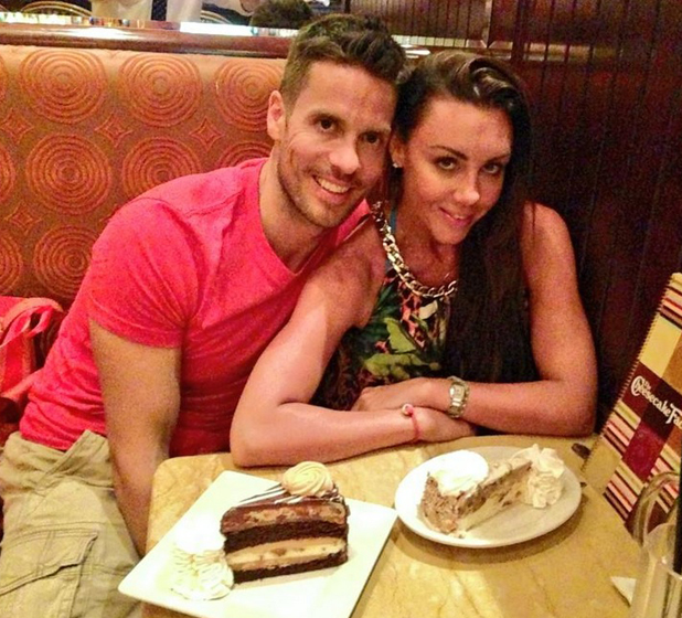 Michelle Heaton and Hugh Hanley together in Las Vegas, September 2014