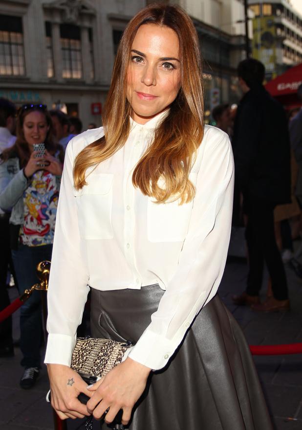 Mel C, Red carpet arrivals for the press night of Evita in London, 22 September 2014