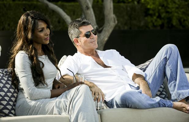 X Factor 2014 Judges' Houses: Simon Cowell and Sinitta in LA