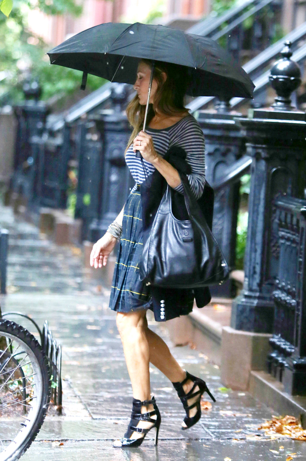 Sarah Jessica Parker out and about, New York, America - 25 Sep 2014