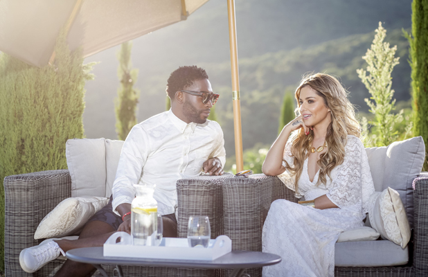 X Factor 2014 Judges' Houses: Cheryl Fernandez-Versini and Tinie Tempah