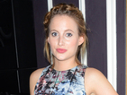MIC's Rosie Fortescue glam in floral co-ords at clothing launch