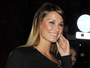 TOWIE's Sam Faiers vamps it up in sexy thigh-high leather boots!