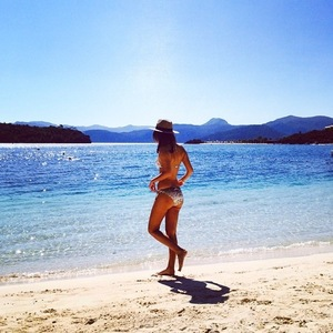 Lucy Watson holidays with Stephanie Pratt in Turkey 29 September
