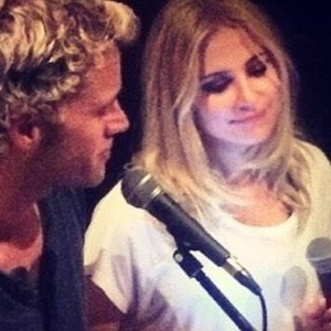 Pixie Lott and Trent Whiddon sing a duet together 2 October
