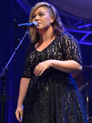 Kelly Clarkson performs at the 8th Annual ACM Honors at the Ryman Auditorium on September 9, 2014 in Nashville, Tennessee.