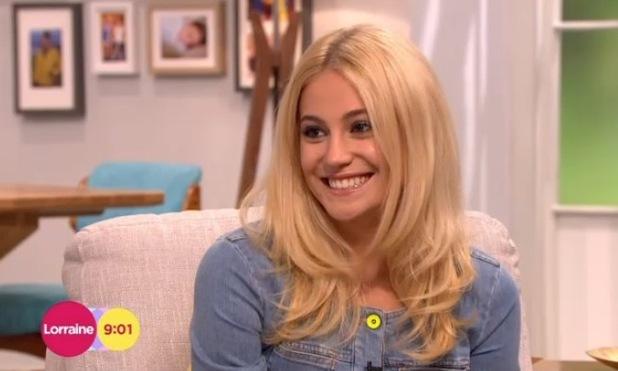 Pixie Lott appears on Lorraine, ITV Studios, London 30 September