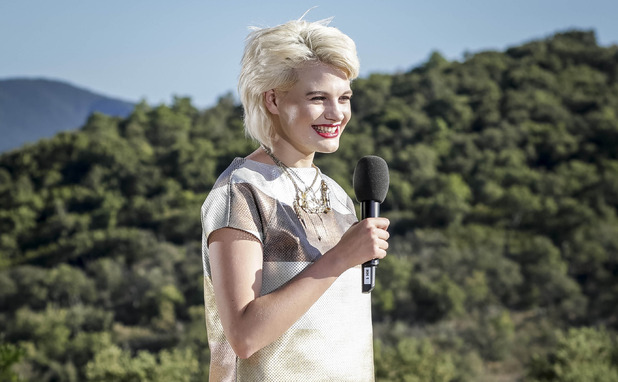 Chloe-Jasmine Whichello auditions at X Factor Judges' Houses with X shoes - 30 September 2014