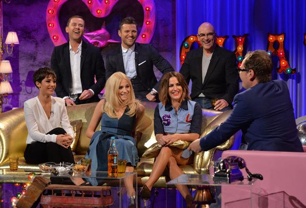Strictly Come Dancing stars - Mark Wright, Pixie Lott, Caroline Flack, Scott Mills, Frankie Bridge