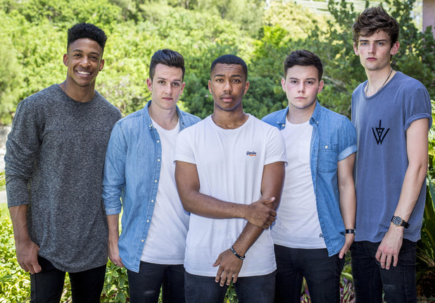 X Factor group Concept at Judges' Houses - 30 September 2014.