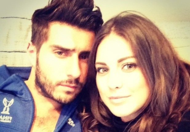 Made In Chelsea's Louise Thompson enjoys casual night in with Alik Alfus  - 28 September.