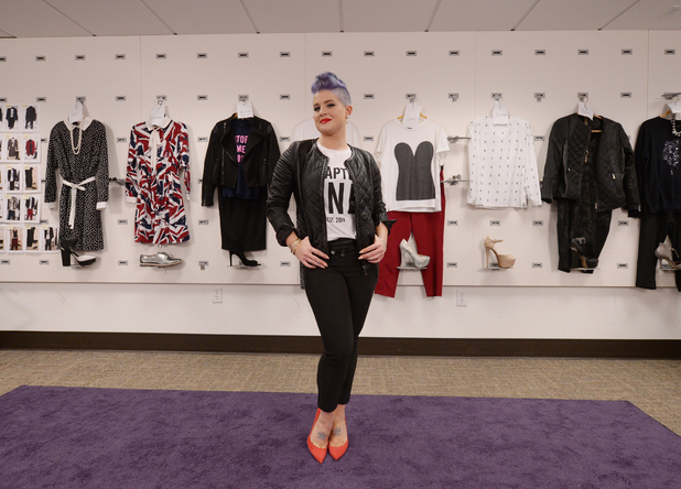 Kelly Osbourne prepares to launch her new clothing line 'Stories...by Kelly Osbourne' at the HSN Studios on September 25, 2014 in St Petersburg, Florida. 'Stories...by Kelly Osbourne' is a new line of ready to wear fashions available on HSN and HSN.com.