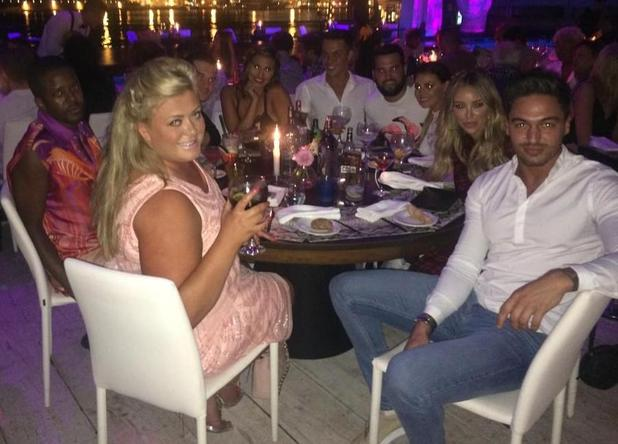 Lauren Pope celebrates her birthday in Ibiza with her TOWIE co-stars - 29 September 2014