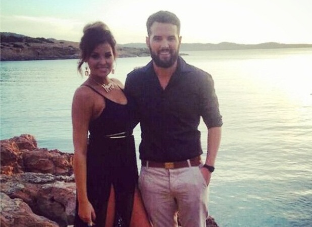 TOWIE's Jessica Wright and Ricky Rayment film their last scenes in Ibiza - 30 September 2014