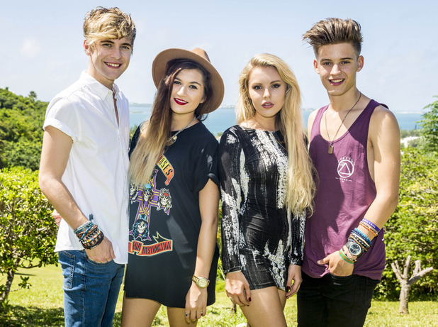 X Factor group Only The Young - Judges' Houses. 30 September 2014.