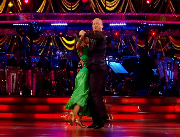 Jake Wood performs live on Strictly Come Dancing, BBC One 26 September