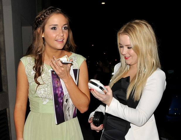 Jacqueline Jossa and Lorna Fitzgerald attend Pride Of Britain Awards, London 2013
