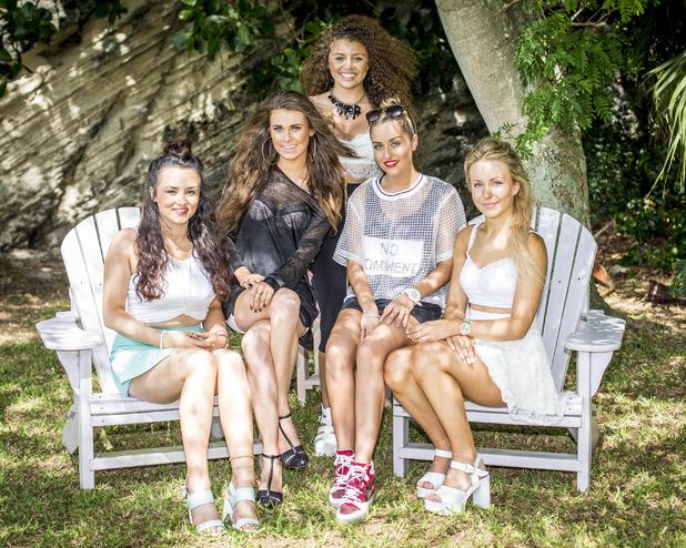 X Factor's new girl band - groups - 30 September 2014.