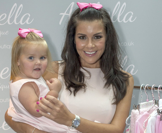 Imogen Thomas launches her on-line boutique for baby clothes at Jaks Bar, London, Britain - 29 Sep 2014