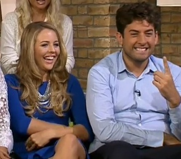 TOWIE stars appear on This Morning - 3 October 2014