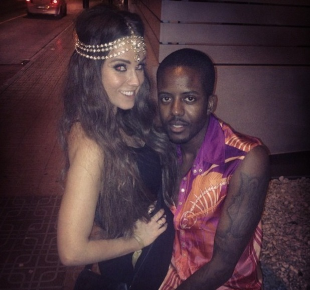 Vicky Pattison bumps into Vas J Morgan while out in Ibiza, Spain 29 September