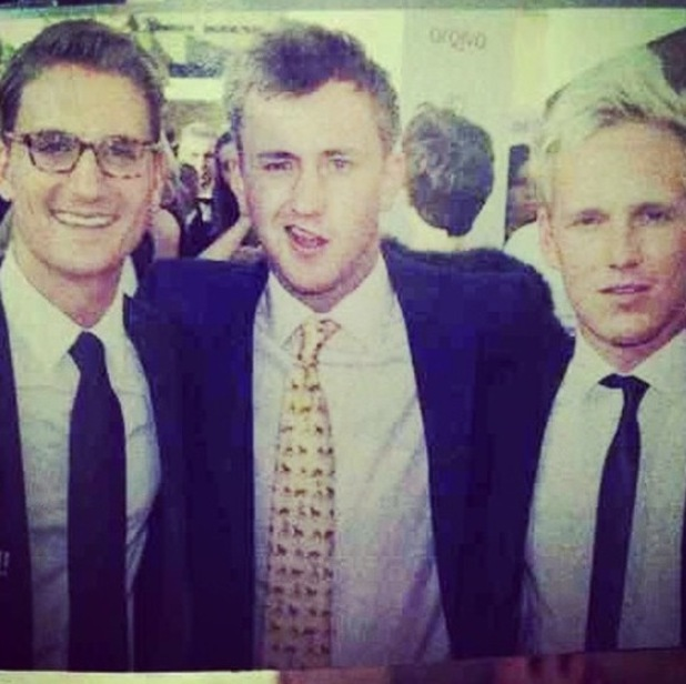 Made In Chelsea's Jamie Laing shares throwback picture with Francis Boulle and Oliver Proudlock  - 30 September.