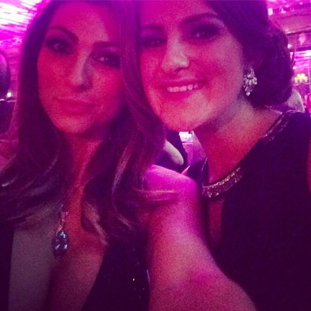 Luisa Zissman attends the Shooting Stars Chase fundraiser at The Dorchester, 4 October 2014