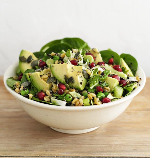 Supergrain salad