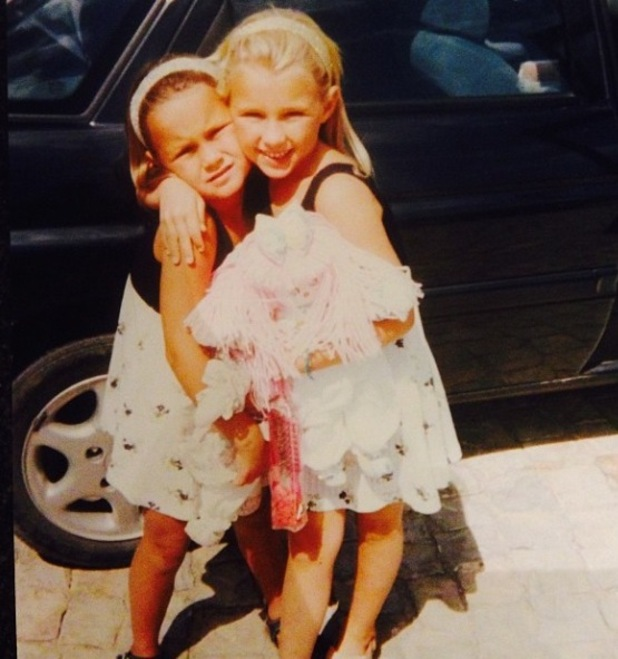 TOWIE's Sam Faiers and Billie Faiers pictured in childhood Marbella holiday photos - 3 Oct 2014