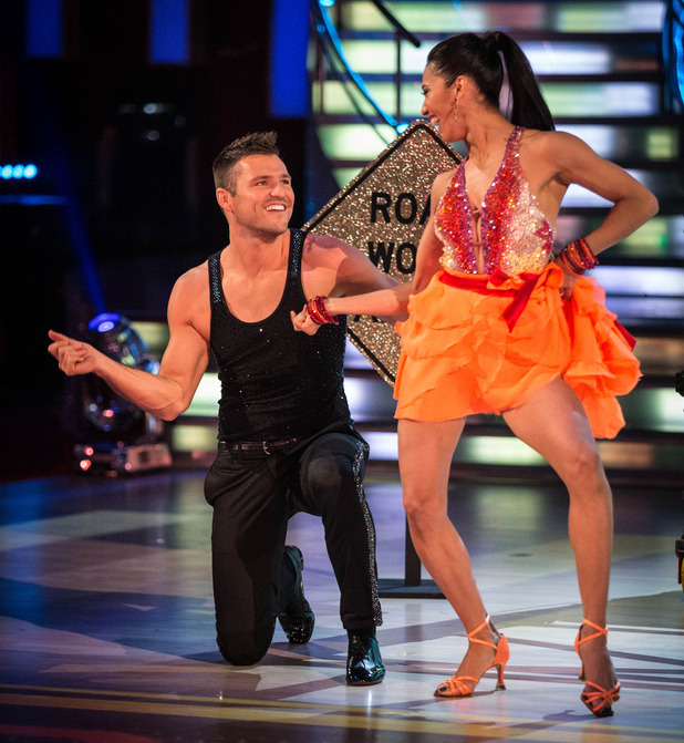 Mark Wright performs on Strictly Come Dancing - aired 27 September.
