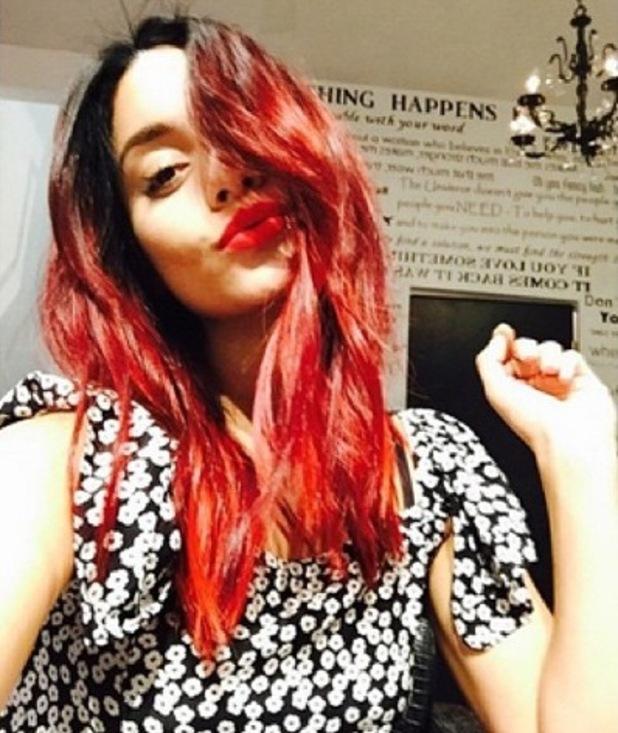Vanessa Hudgens debuts Halloween-inspired hair makeover 2 October