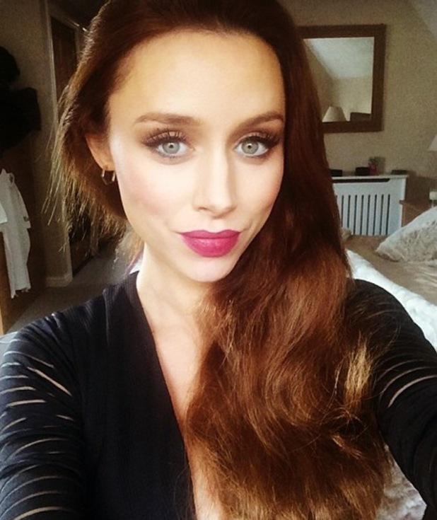 The Saturdays Una Foden takes selfie 27 September