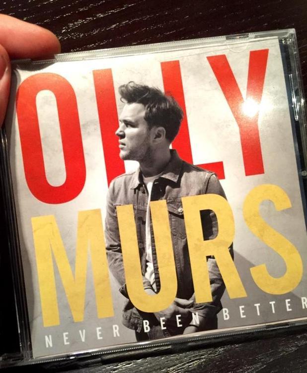 Olly Murs unveils new album cover, Never Been Better - 29 September 2014.