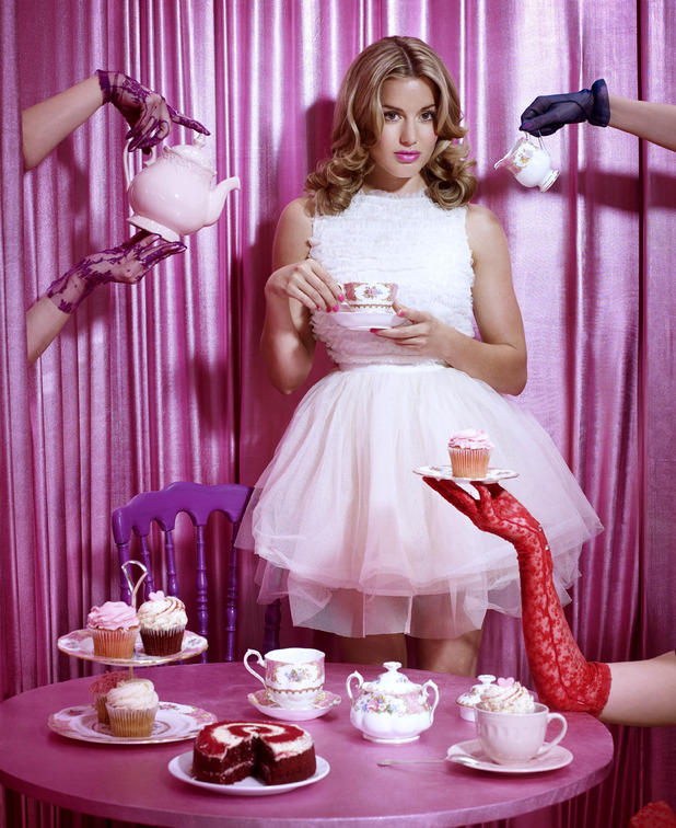 Caggie Dunlop fronts Asda's 'Lend A Hand' Tickled Pink campaign ahead of Breast Cancer Awareness Month 2014
