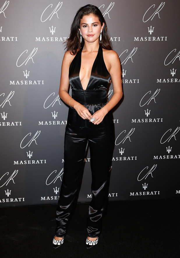 Selena Gomez attends the CR Fashion Book Issue No. 5 launch party in Paris, France - 30 September 2014