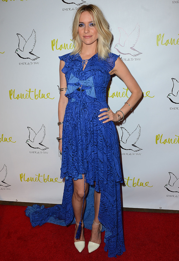 Kristin Cavallari attends the launch of her new jewellery collection Emerald Duv in Los Angeles, America - 2 October 2014