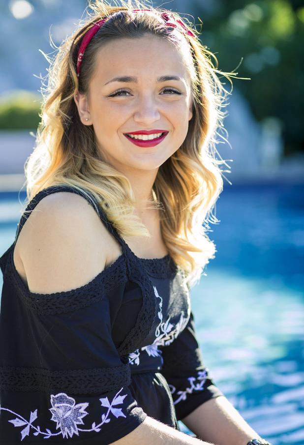 Lauren Platt at judge's house, X Factor 2014