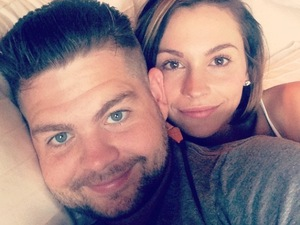 Jack and Lisa Osbourne celebrate their second wedding anniversary - 7 October 2014
