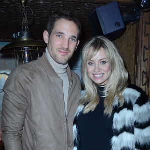Kimberly Wyatt attends lauch of debut fragrance Kaydance with husband Max Rogers, Mahiki, London 9 October