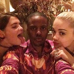 TOWIE's Vas J Morgan enjoys dinner celebration with Rita Ora and Pixie Geldof - 8 October.