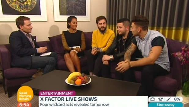 X Factor's Mel B and her boys on Good Morning Britain - 10 October.