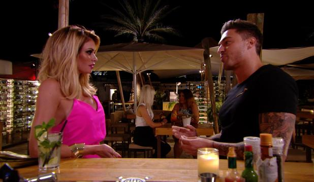 TOWIE's Mario Falcone makes his return in series 13 and confronts former flame Chloe Sims. Episode aired Wednesday 8 October.