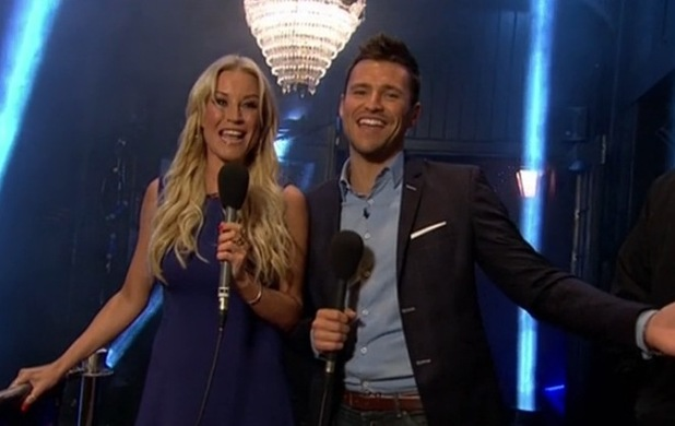 Mark Wright presents TOWIE - All Back to Essex on ITVBe with Denise Van Outen. Wednesday 8 October 2014.