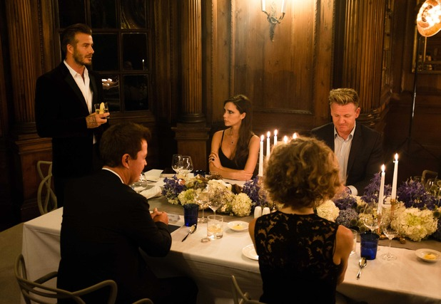 David and Victoria celebrate David's own brand of Haig Club whisky - 7 October
