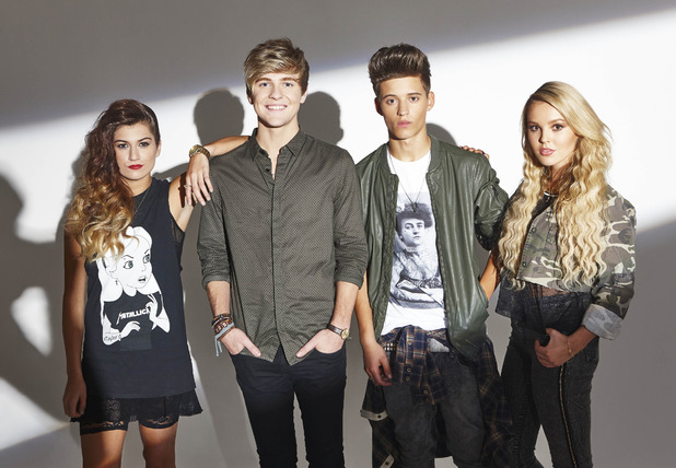 X Factor 2014 finalists Only The Young.