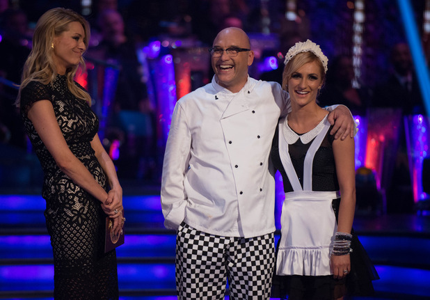 Strictly Come Dancing - Greg leaves the competition. Transmission Date: 05/10/2014