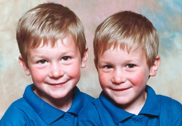 Twin bodybuilders Owen and Lewis Harrison aged three years old