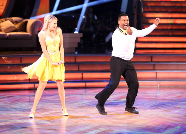 Alfonso Ribeiro - the 10 remaining celebrities danced to songs commemorating their most memorable year on 6 October, on the ABC Television Network.