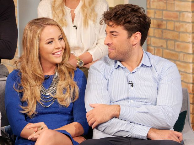 'This Morning' TV Programme, London, Britain. - 03 Oct 2014 Lydia Bright and James Argent.
