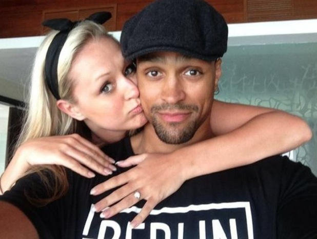 Ashley Banjo announces his engagement to girlfriend Francesca Abbott on Twitter 2 October